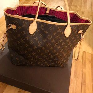 Louis Vuitton Bags - Louis Vuitton Neverfull NM MM Monogram